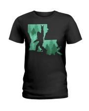 Bigfoot - Louisiana Ladies T-Shirt thumbnail