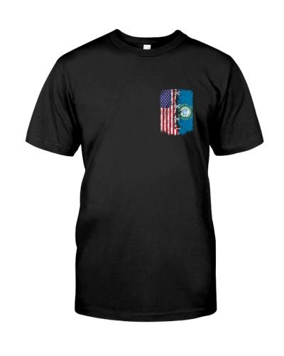 South Dakota and American flag 2s 0037