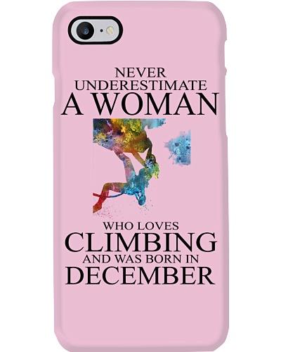 Climbing Never Underestimate A Woman December