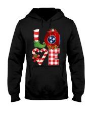 Love Tennessee christmas 9993 0037-FZ Hooded Sweatshirt front