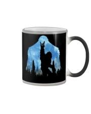 Bigfoot rock and roll ver moon Color Changing Mug thumbnail