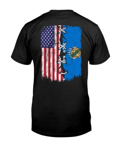 Oklahoma and American flag 0037