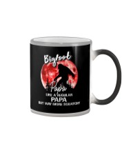 Bigfoot papa - red moon Color Changing Mug thumbnail