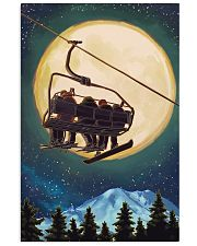 Snowboarding Moon 11x17 Poster front