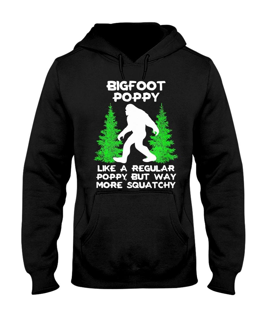 Bigfoot Poppy Hooded Sweatshirt