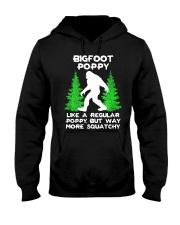 Bigfoot Poppy Hooded Sweatshirt front