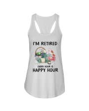I'm retiered - knitting Ladies Flowy Tank thumbnail