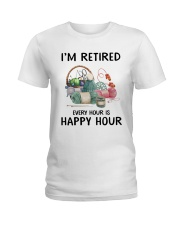 I'm retiered - knitting Ladies T-Shirt thumbnail