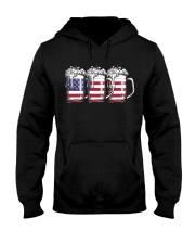 Beer AMERICAN flag uyen 9993 0037 Hooded Sweatshirt front