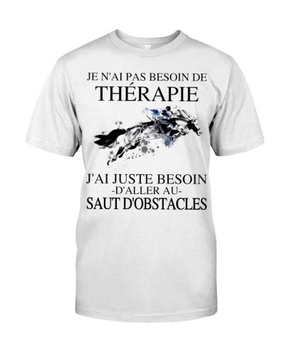 Je n'ai pas besoin de thérapie -d'obstacles