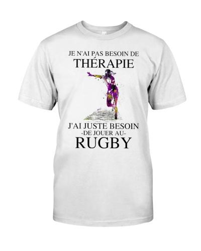 Je n'ai pas besoin de thérapie -rugby