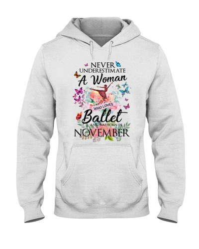 A Woman Who Loves Ballet And Born In November