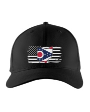 American and Ohio map 9993 0037 Embroidered Hat front