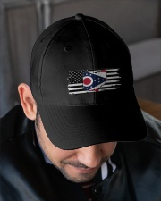 American and Ohio map 9993 0037 Embroidered Hat garment-embroidery-hat-lifestyle-02