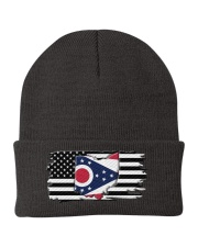 American and Ohio map 9993 0037 Knit Beanie thumbnail