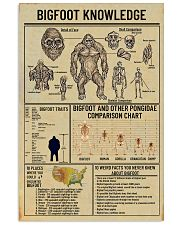 Bigfoot Knowledge 2 11x17 Poster front