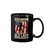 Pickleball-Assuming i'm just an old lady Mug thumbnail