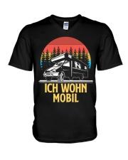 Ich Wohn Mobil V-Neck T-Shirt thumbnail
