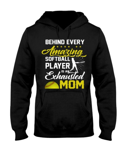 behind every amazing softball player