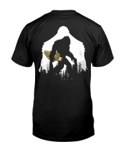 Bigfoot With Morel Mushroom - Back side Classic T-Shirt tile