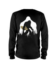 Bigfoot With Morel Mushroom - Back side Long Sleeve Tee thumbnail