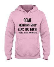 Some Montana Girls Hooded Sweatshirt front