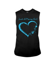 Just A Maine Girl Blue Sleeveless Tee thumbnail