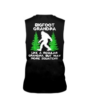Bigfoot Grandpa - backside Sleeveless Tee thumbnail