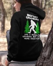 Bigfoot Grandpa - backside Hooded Sweatshirt apparel-hooded-sweatshirt-lifestyle-06