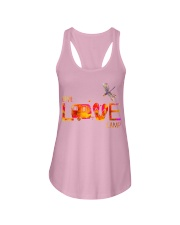 Camping live and love Ladies Flowy Tank thumbnail