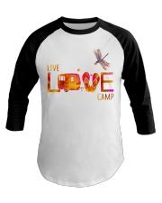 Camping live and love Baseball Tee thumbnail
