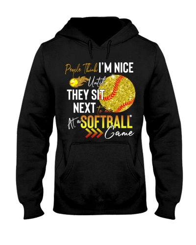 Softball people think