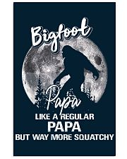 Mens Bigfoot Papa - Poster 11x17 Poster front
