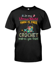 In My Dream World - Crochet Classic T-Shirt thumbnail