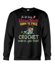 In My Dream World - Crochet Crewneck Sweatshirt thumbnail