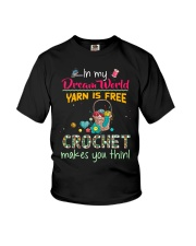 In My Dream World - Crochet Youth T-Shirt thumbnail