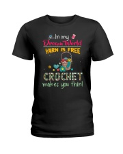 In My Dream World - Crochet Ladies T-Shirt thumbnail