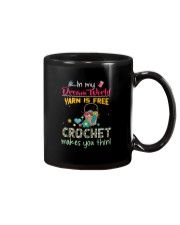 In My Dream World - Crochet Mug tile