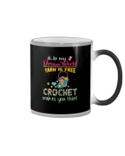 In My Dream World - Crochet Color Changing Mug tile