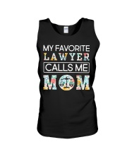 Lawyer Calls Me Mom Unisex Tank thumbnail