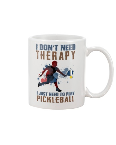 I don't need therapy - Pickleball