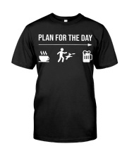 disc dog plan for the day men Classic T-Shirt tile