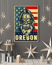 Bigfoot oregon american flag poster 24x36 Poster lifestyle-holiday-poster-1