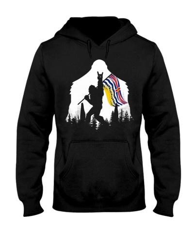 Bigfoot British Columbia flag