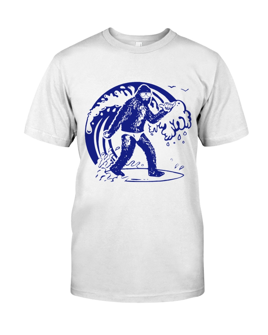 Bigfoot go suffing - Year end sale Classic T-Shirt