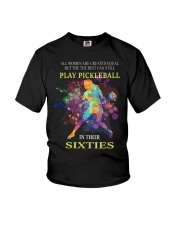 Pickleball - creat equal sixties Youth T-Shirt thumbnail