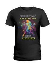 Pickleball - creat equal sixties Ladies T-Shirt front