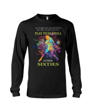 Pickleball - creat equal sixties Long Sleeve Tee thumbnail