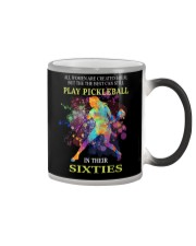 Pickleball - creat equal sixties Color Changing Mug thumbnail