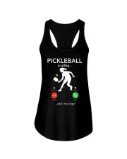 PICKLEBALL is calling women pt Ladies Flowy Tank thumbnail